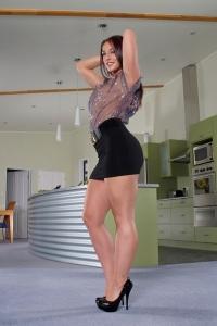 Mischa Brooks,shaved vigina pics
