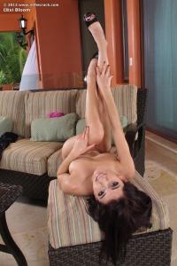Lexi Bloom,pantyhose crossed legs