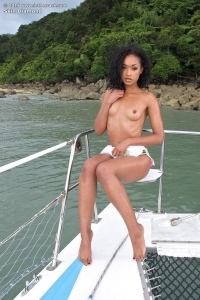 Skin Diamond,black shaved pussy