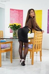 Lorena Garcia,wet black pussy