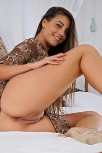 Lorena Garcia,shaved tight vagina