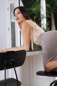 Zaya Cassidy,tight black pussy